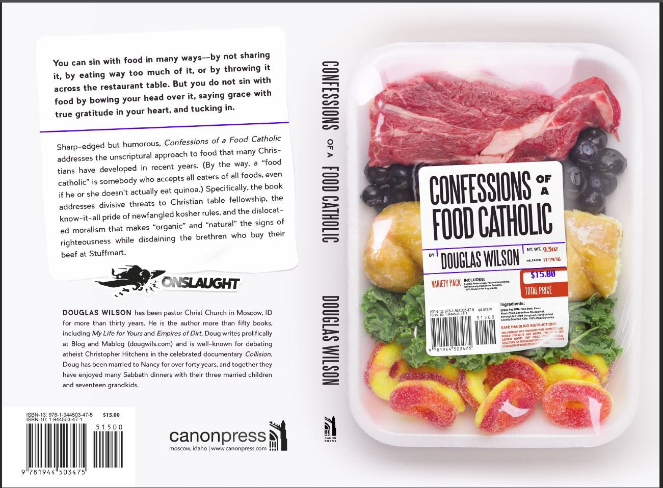 Confessions Of A Food Catholic: Douglas Wilson: 9781944503475: Amazon:  Books