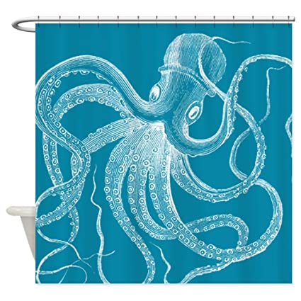 Image Unavailable Not Available For Color CafePress Sea Monster Shower Curtain