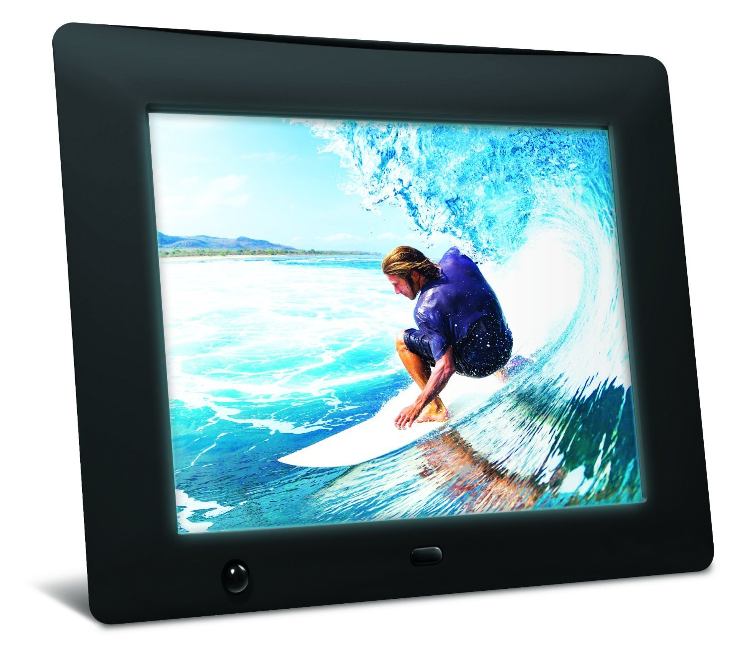 Amazon.com : NIX 8 inch Hi-Res Digital Photo Frame with Motion ...