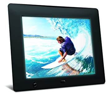nix 8 inch hi res digital photo frame with motion sensor x08d