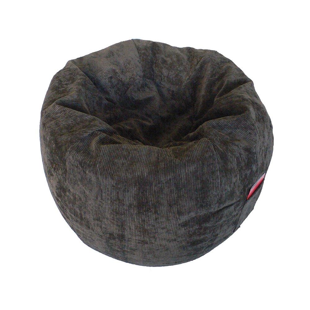 Boscoman - Corduroy Adult Round Beanbag Chair - Chocolate (BOX M) Jansonic Ltd.