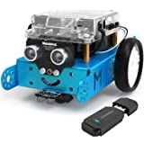 Makeblock mBot Starter Kit with Bluetooth Dongle, Learning & Education Toys with Arduino/Scratch Coding, Electronic Sensors,