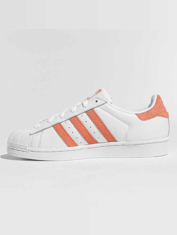 Adidas Superstar Sneakers voor dames Weiß Korall