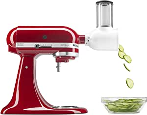 KitchenAid Fresh Prep Slicer/Shredder Attachment, White, (KSMVSA)