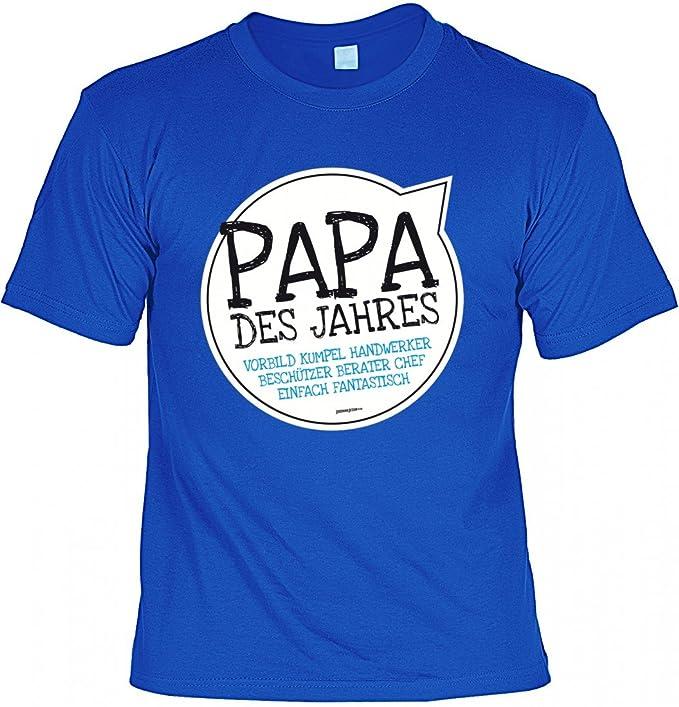 Rohuf Design T Shirt Vater Papa Des Jahres Geschenk Idee
