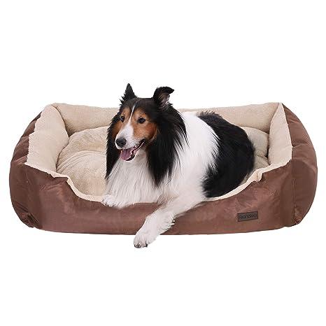 FEANDREA Casa Cómoda para Mascotas, Cama para Perros, Sofá para Perros, 75 x 58 x 21 cm PGW03Z
