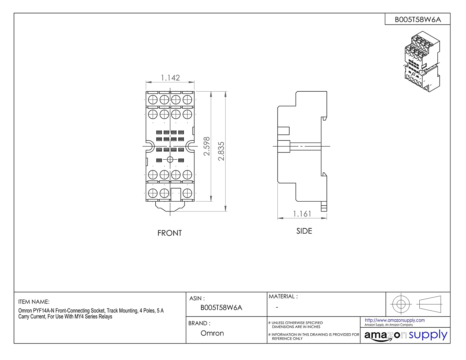 Excellent Pyf14a Relay Base Wiring Diagram Photos - Electrical and ...