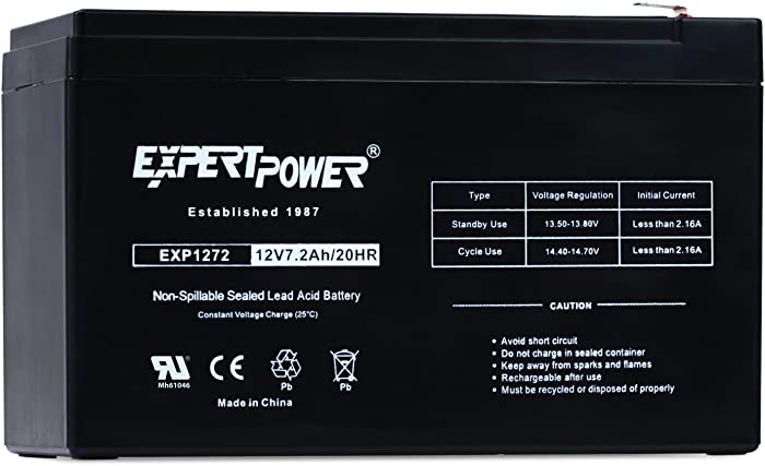The Best 12 Volt Keyko Home Security Battery 72Ah
