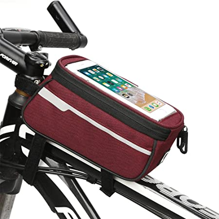 Paquete de cuadro de bicicleta Alforja for bicicleta, bolsa con marco for bicicleta, bolsa for bicicleta