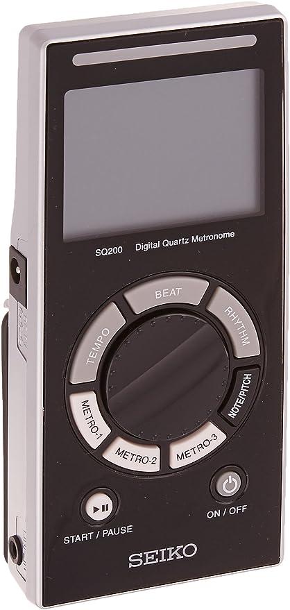 Seiko Multi-function & User friendly metronome SQ200