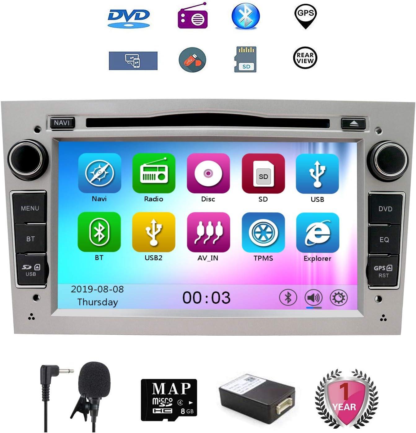 7 pulgadas Reproductor de CD y DVD del coche GPS Navi para Opel ...