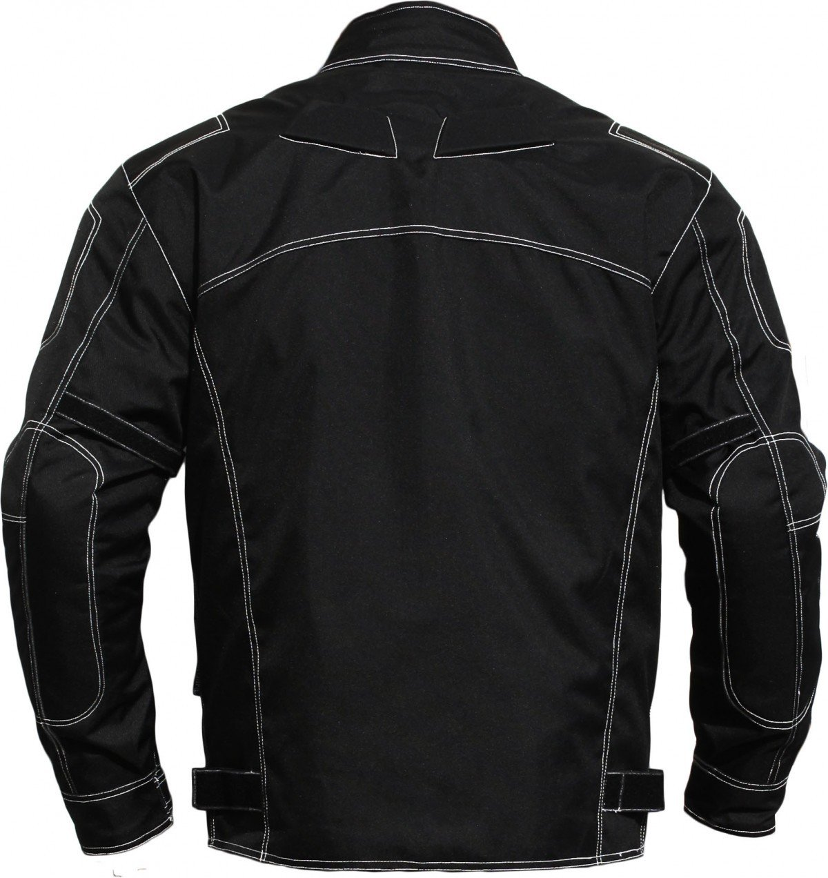 Schwarz 56 German Wear Motorradjacke aus Textilien