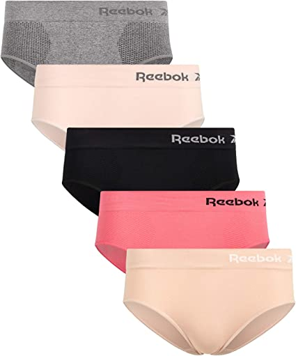Seamless Gym Underwear Knicker Briefs Pants Active Wear Running Nude White Black
