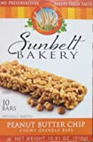 Sunbelt Bakery's PEANUT BUTTER CHIP Chewy Granola Bars 10-Count (5 Boxes)