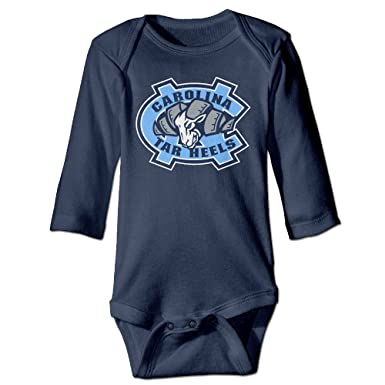Amazon Com Unisex Baby North Carolina Tar Heels Baby Onesies Long