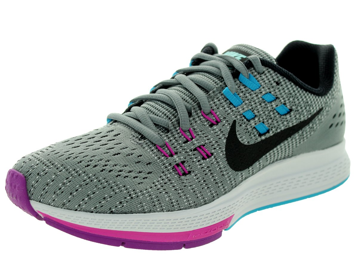 NIKE Mens Air Zoom Structure 19 Running Shoes B015GJ5RW0 6 W US|Cool Grey/Black/Fuchsia Flash