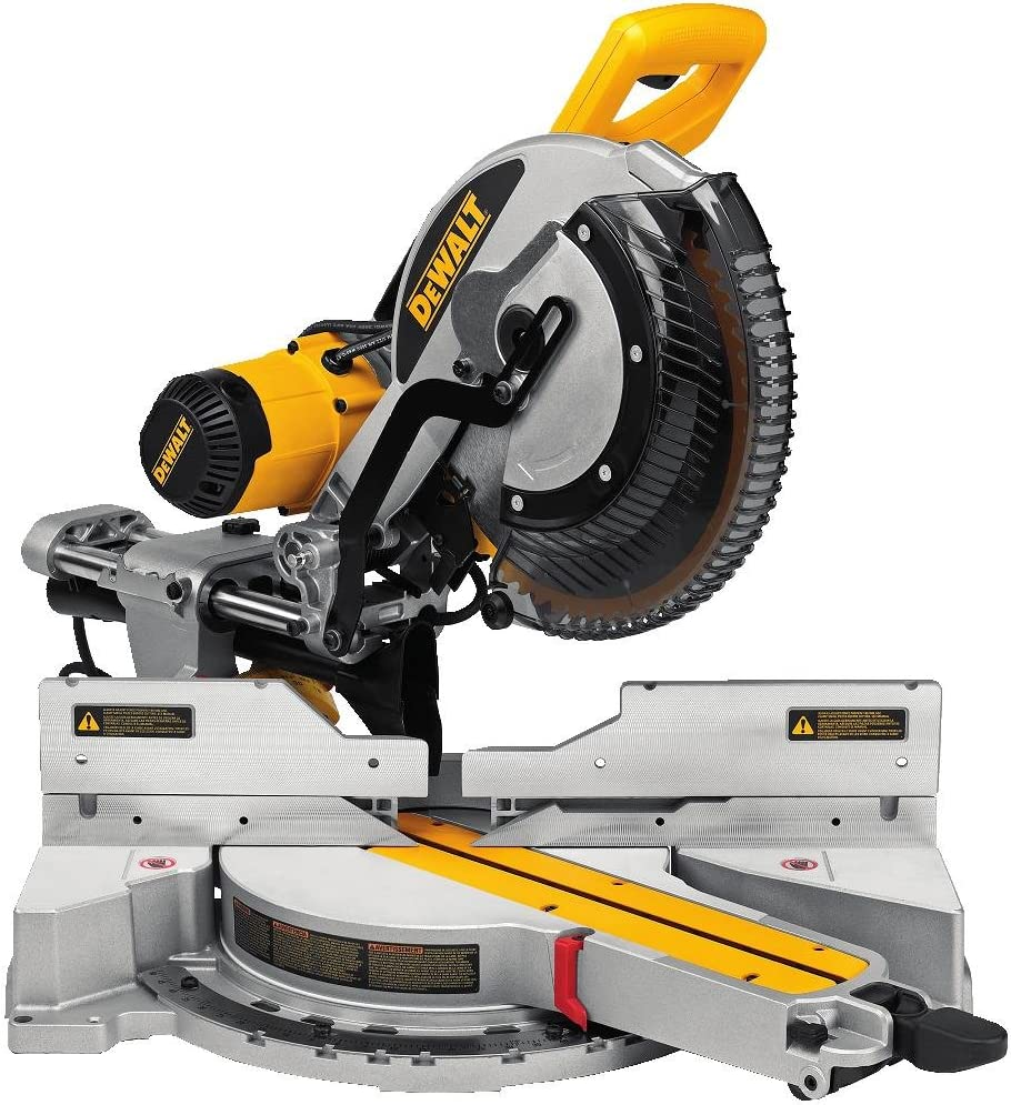 2. DEWALT DWS779 12″ Sliding Compound Miter Saw