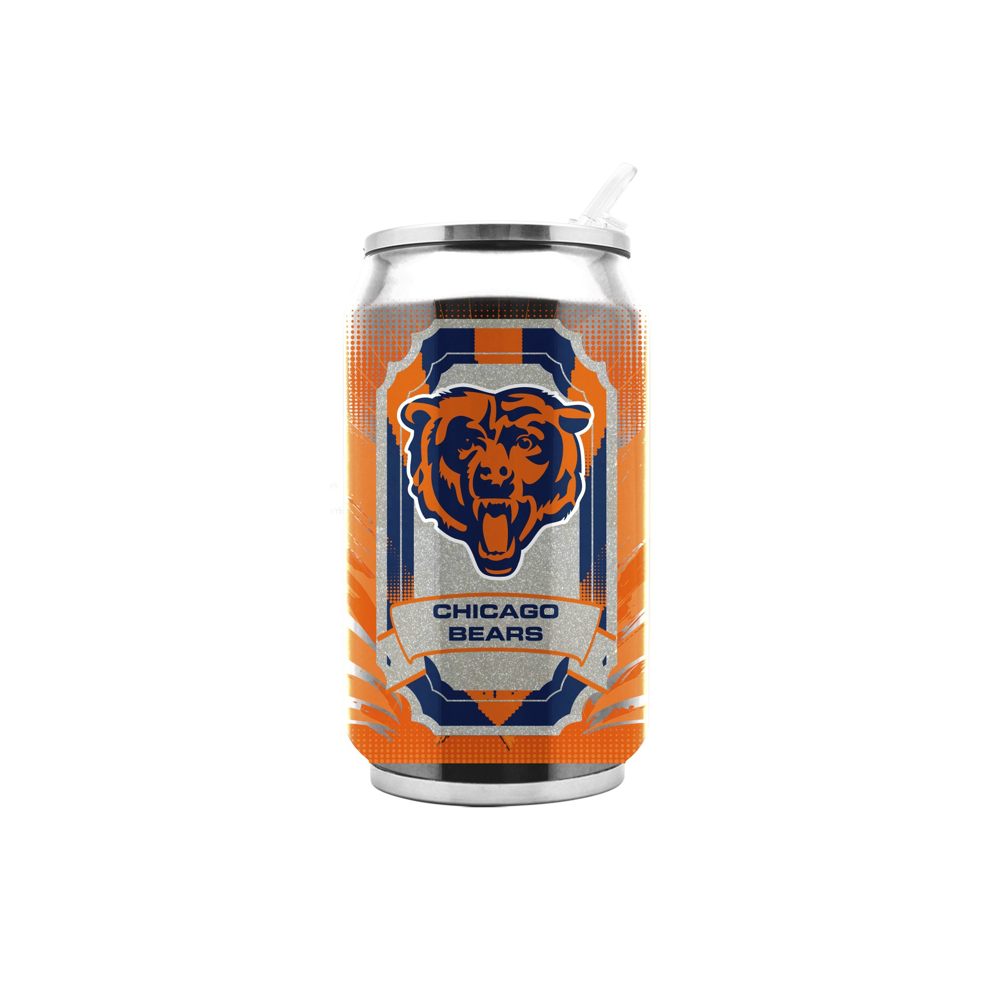 NFL Chicago Bears 16oz Double Wall Stainless Steel