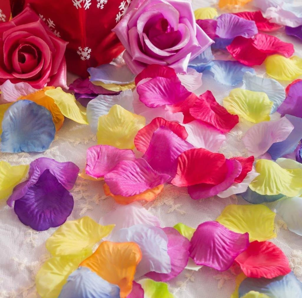 Lorraine Wedding Table Decoration Silk Rose Petals Flowers Confetti 500, Pure White
