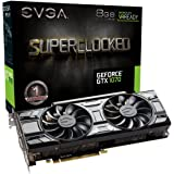 EVGA GeForce GTX 1070 SC GAMING ACX 3.0 Black Edition, 8GB GDDR5, LED, DX12 OSD Support (PXOC) Grafikkarte 08G-P4-5173-KR