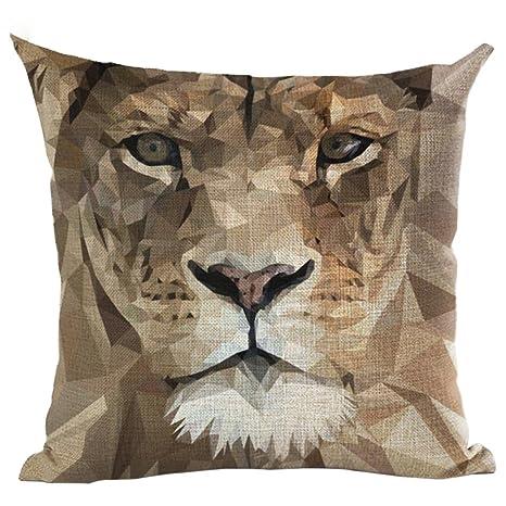 Amazon.com: Academyus Tiger - Funda de cojín decorativa para ...
