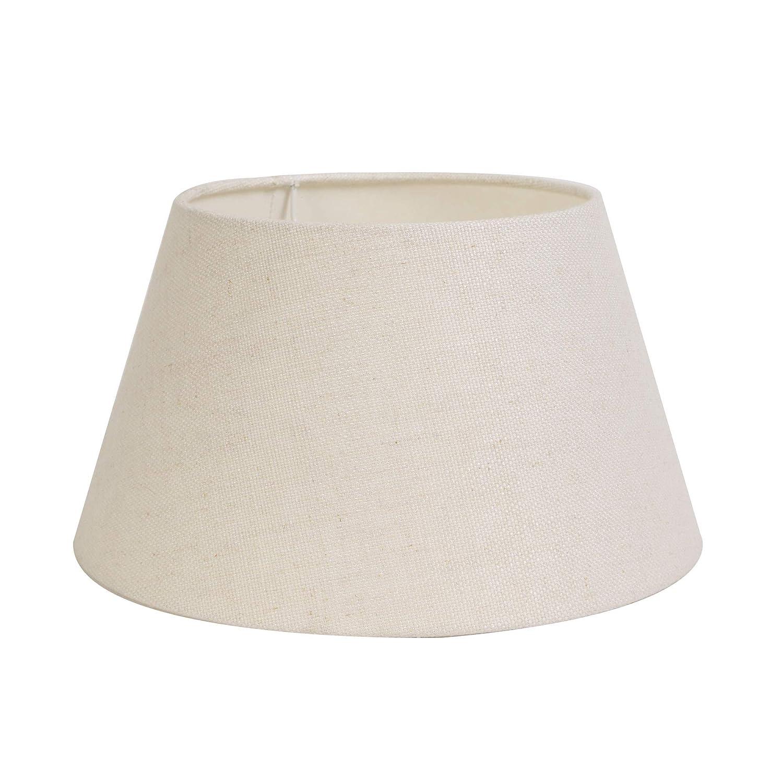 Design Lampenschirm rund 40-30-22 cm LIVIGNO ei weiss