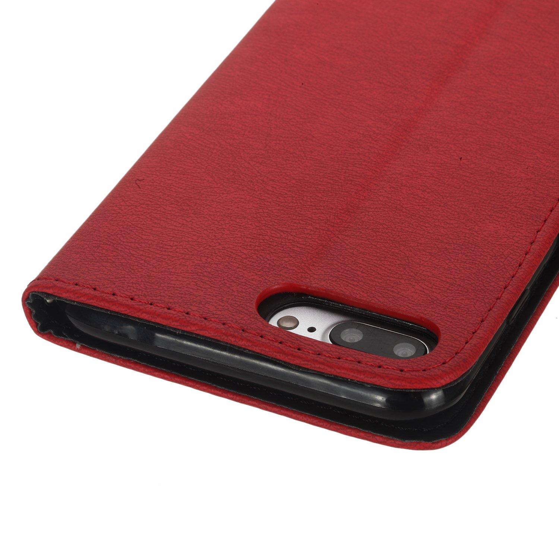Amazon Scheam iPhone 7 Plus iPhone 8 Plus Card Holder Case iPhone 7 Plus iPhone 8 Plus Wallet Case Slim iPhone 7 Plus iPhone 8 Plus Folio Leather