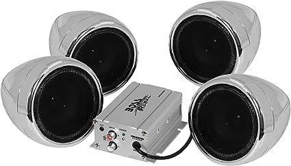 Amazon.com: BOSS AUDIO MC470B 1,000-Watt Amplified Motorcycle/All-Terrain Speaker & Amp System (Bluetooth(R) Audio Streaming): Home Audio & Theater