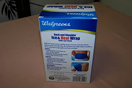Amazon Com Walgreens Back And Shoulder Ice Heat Wrap With Gel