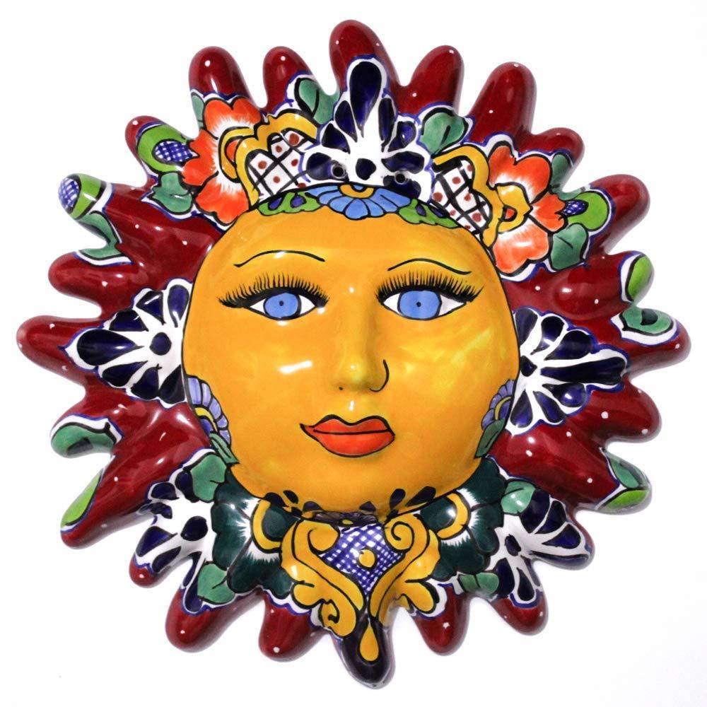 Sol Decorativo de Talavera, para colgar en Pared