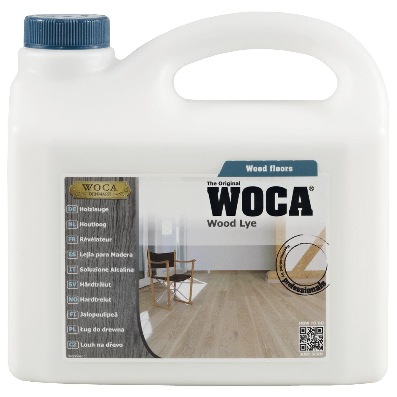 Woca 500235A Wood baveLye  –  Ré vé lateur Produit de pré -traitement du bois Blanc 2.5 litre –  Blanc, 500235 A 500235A
