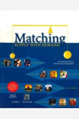 Matching Supply with Demand: An Introduction to Operations Management Paperback