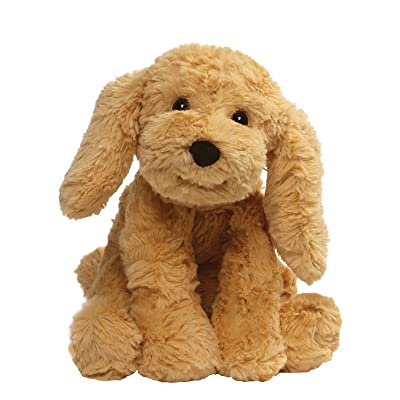 "GUND Cozys Collection Puppy Dog Stuffed Animal Plush, Tan, 8"": Toys & Games"