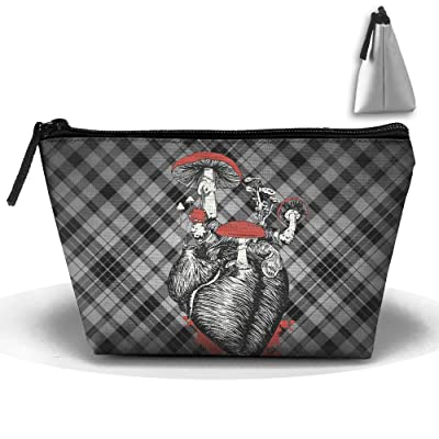 f4e6fd600f Trapezoid Portable Travel Toiletry Pouch Lattice Classic Patterns Cosmetic  Bags Multifunction Clutch Bag durable modeling