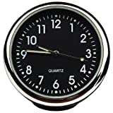 Txian Custom Präzise Auto-Uhr, rund, klein, Quarz, perfekte Auto-Dekoration
