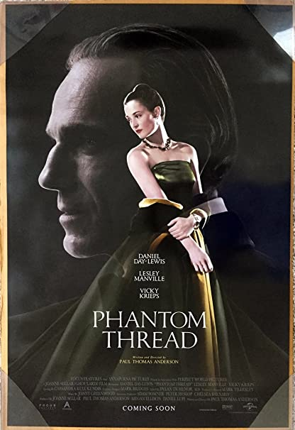 Amazon.com : PHANTOM THREAD MOVIE POSTER 2 Sided ORIGINAL INTL FINAL 27x40 DANIEL DAY-LEWIS : Everything Else