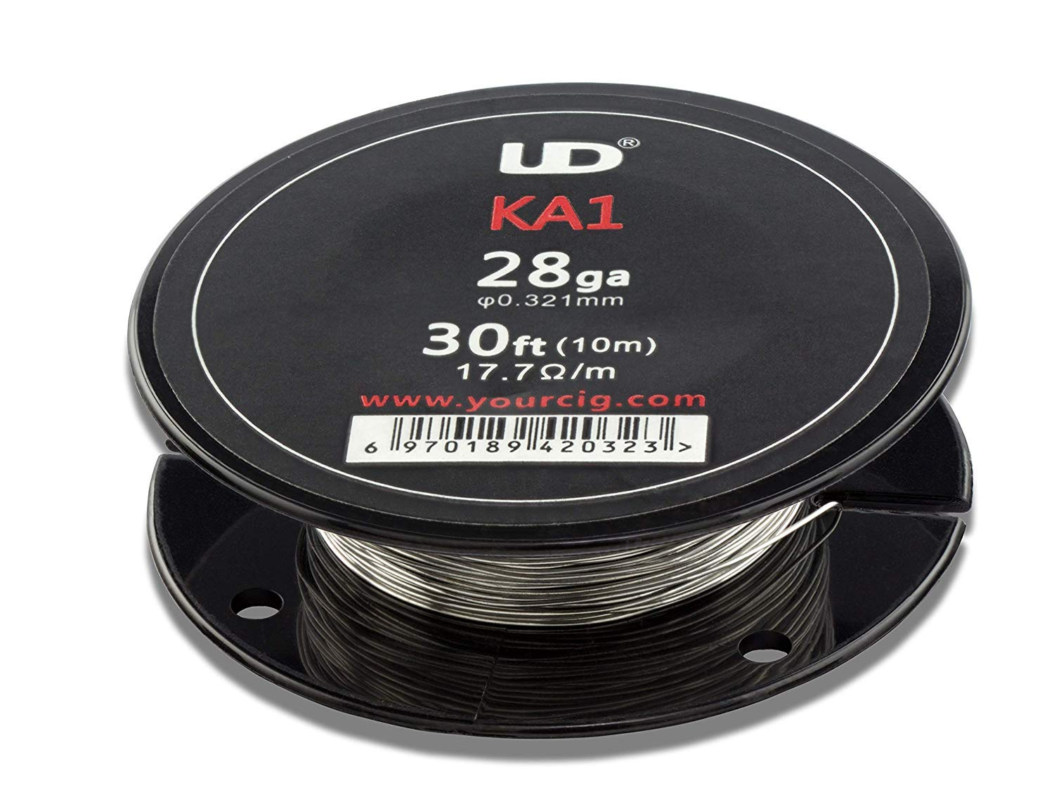 UD Youde wire - Kanthal A1 - 28 AWG / 0.30 mm - 10 metre spool