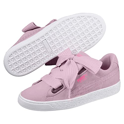 1f89b5a4884a Puma Women s Suede Heart Street 2 Wn s Winsome Orchid Sneakers 8 UK India (