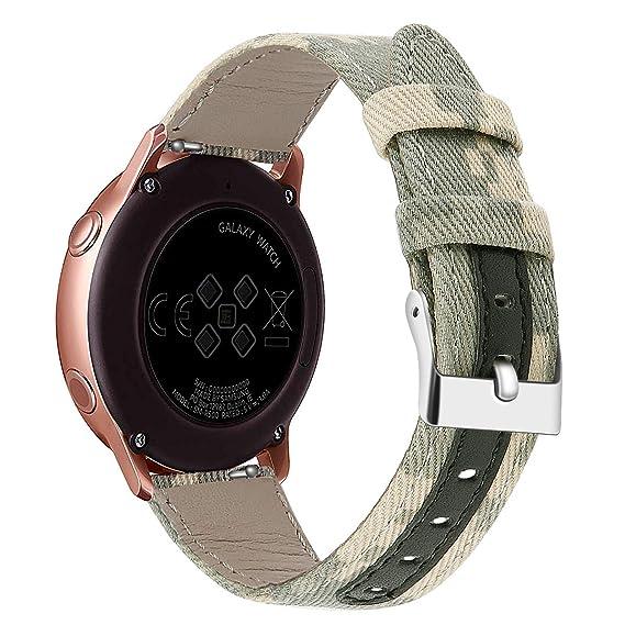 AMODN Watchband for Samsung Galaxy Watch Active 42mm Smartwatch ...