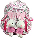 Deal Especial new stylish Bunny backpack Multicolored colors bag gift & sales 213P