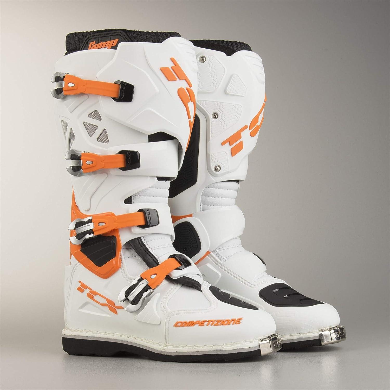 TCX botas de Cross Comp Evo blanco-naranja 49