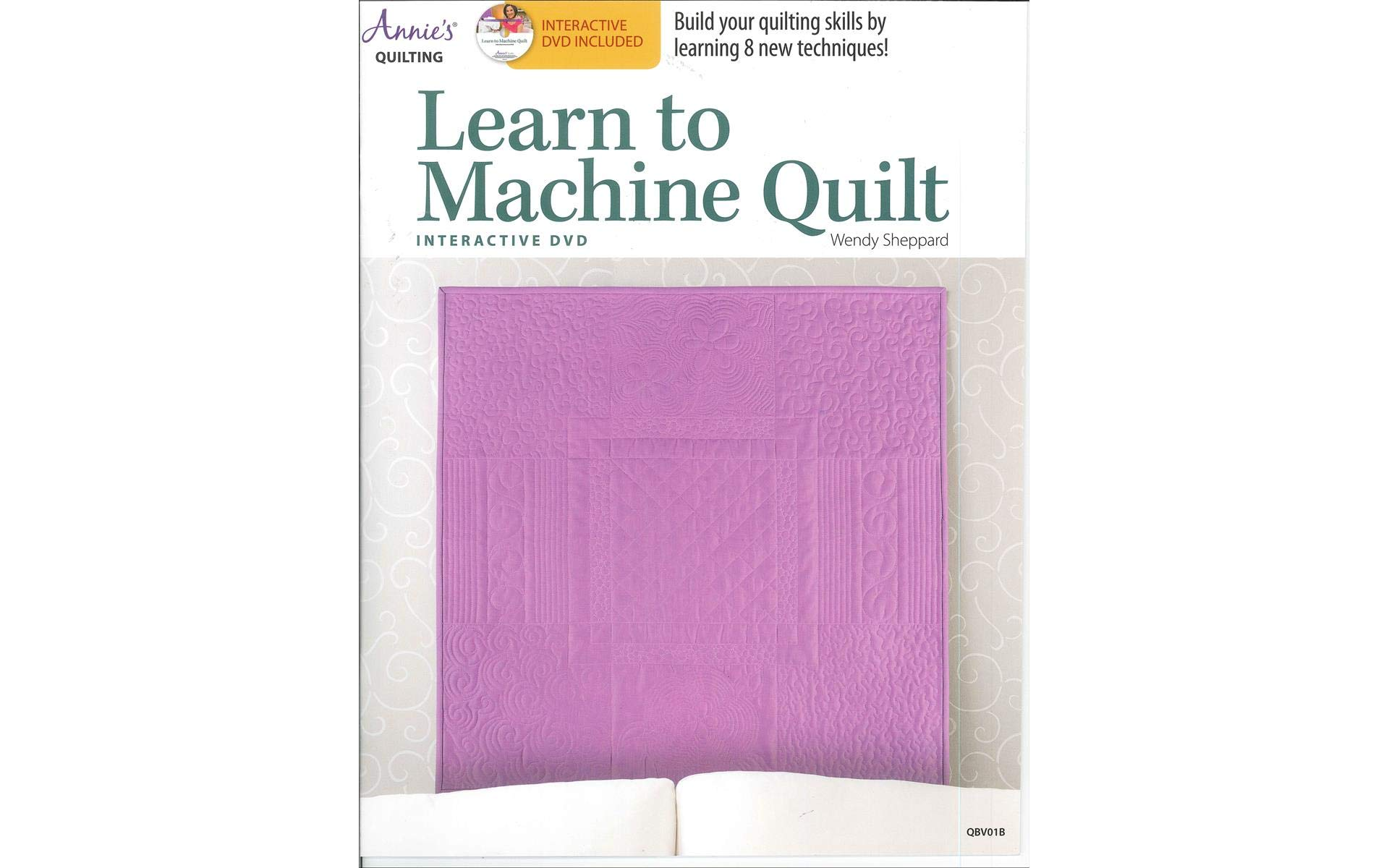 Annie's Learn Machine Quilt Bk
