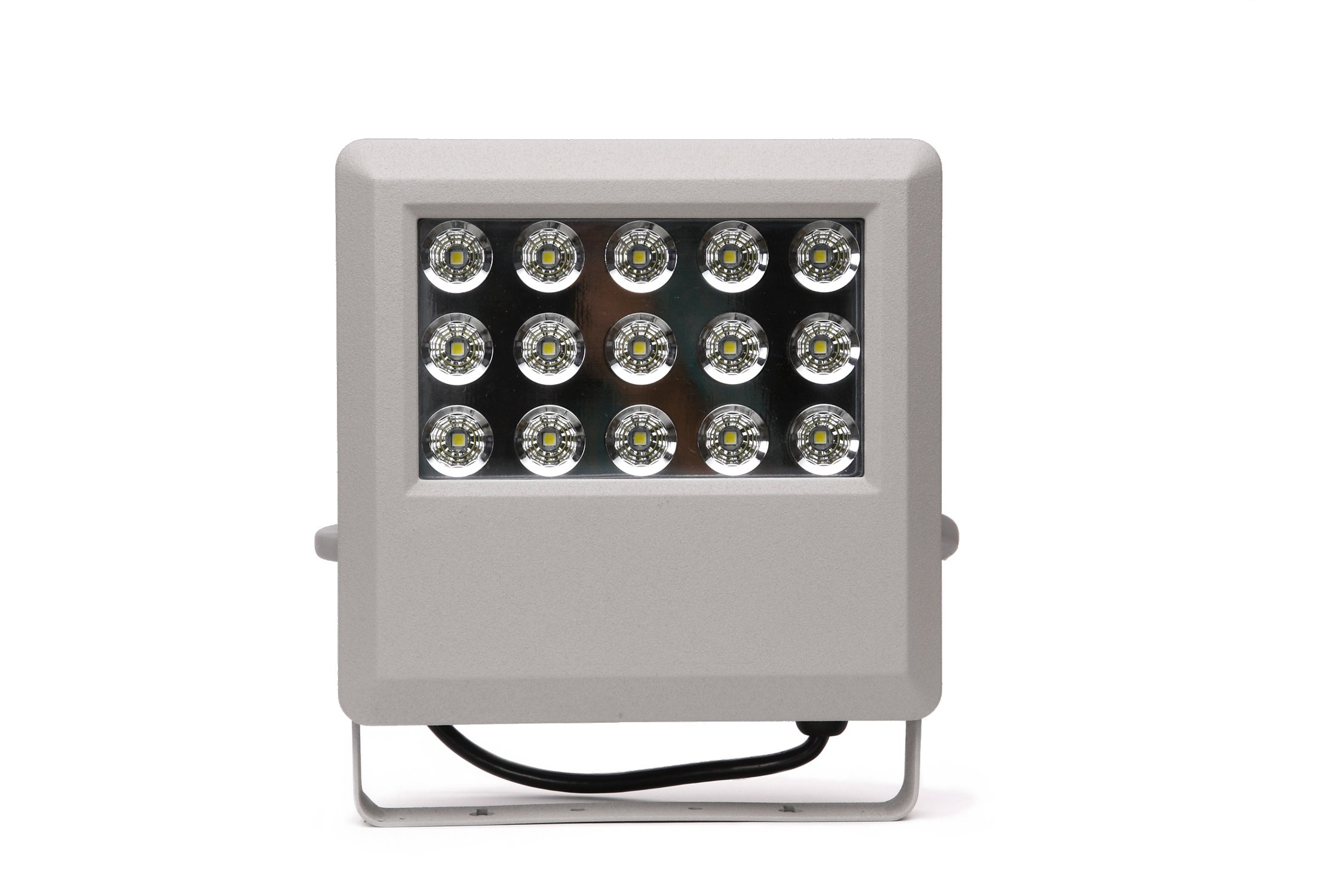 HIGH Power LED FLOODLIGHT with 15 LED Bulbs in Display/Hitec Energy Saver/PhotoCell for Dusk to Dawn illumination/IP65 Cerftified Great for Outdoor