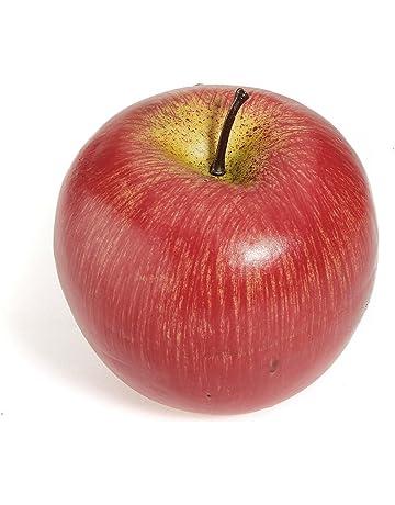 TOOGOO(R) 1pz Frutas de plastico Manzana roja falsa artificial grande decorativa Decoracion de