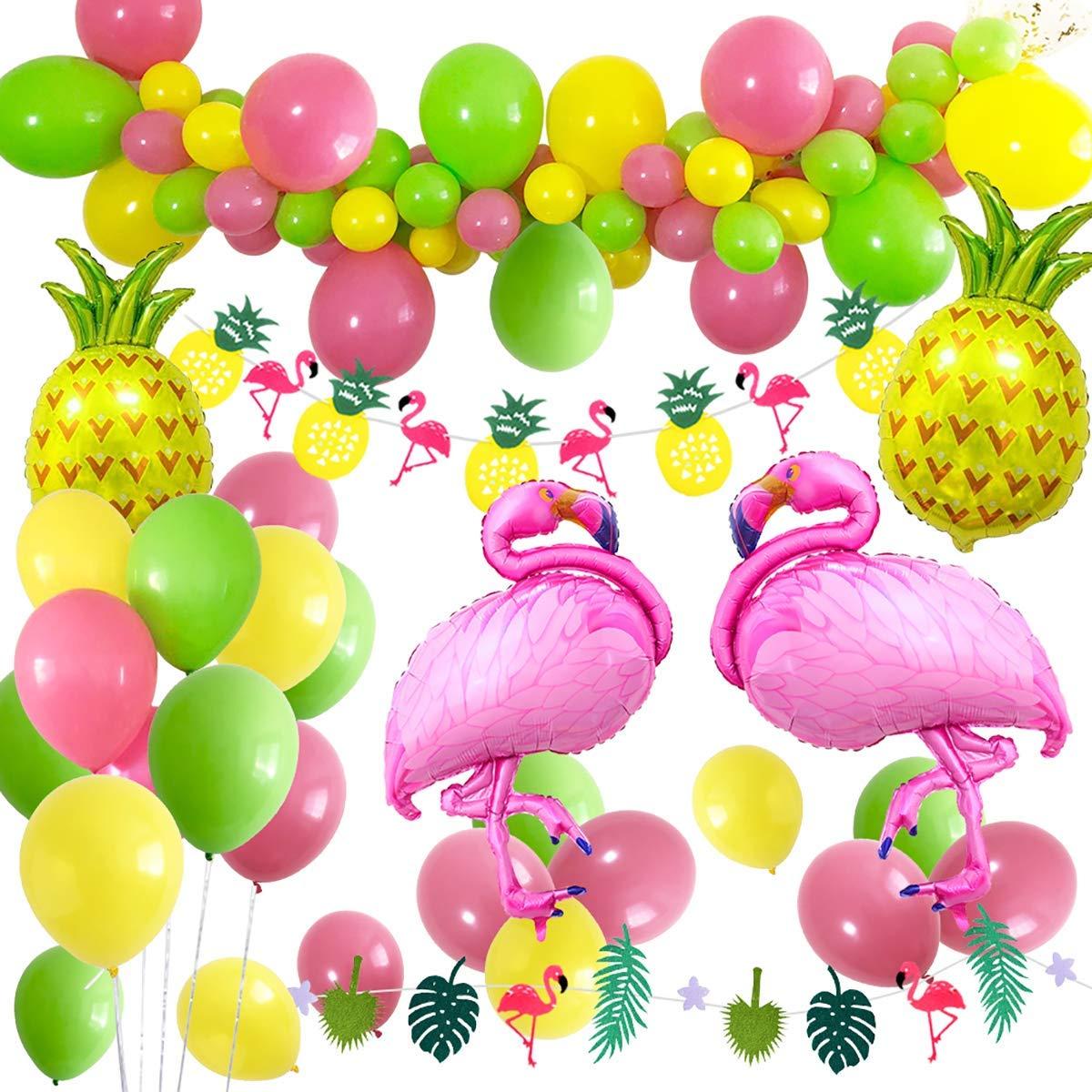 Amazon Com Hawaiian Beach Party Decoration Tropical Summer