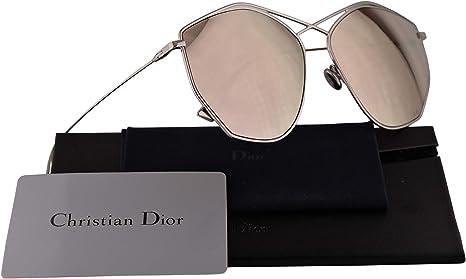 Dior Christian DiorStellaire4 gafas de sol w / 59mm lente de espejo de oro 010SQ Stellaire4 DiorStellaire4 / s DiorStellaire4s DiorStellaire 4 mujer Paladio Grande: Amazon.es: Ropa y accesorios