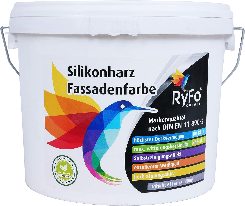Reibeputz 2 mm Außen Silikonharz weiss 25kg FassadenPutz 1,60 EUR//kg