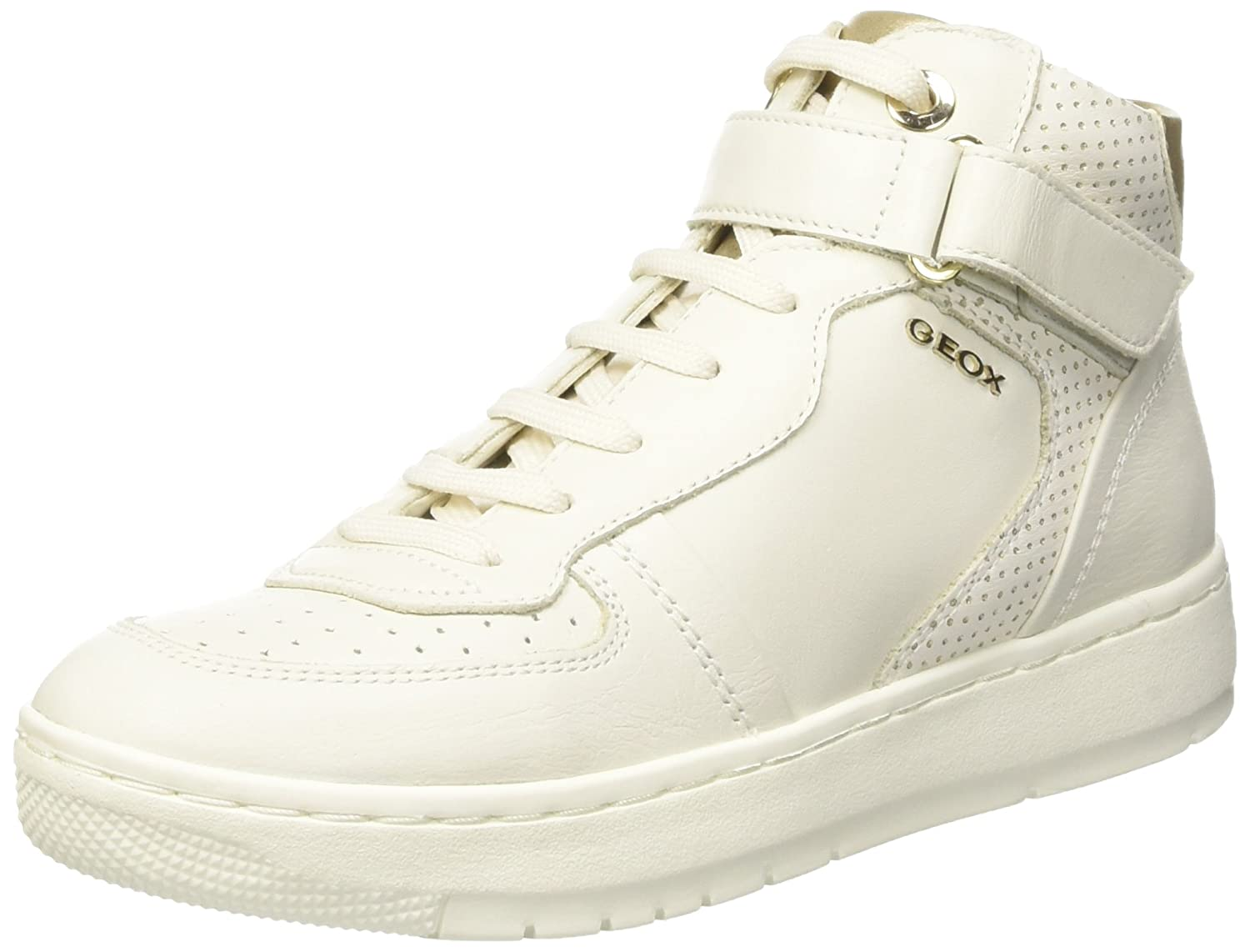 Geoxd Nimat D - Chaussures Femme, Blanc, Taille 36