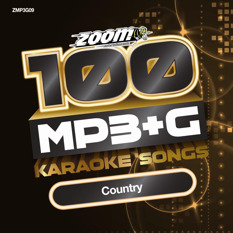 Zoom Karaoke MP3+G Disc - 100 Songs - Country: Amazon.co.uk: Music