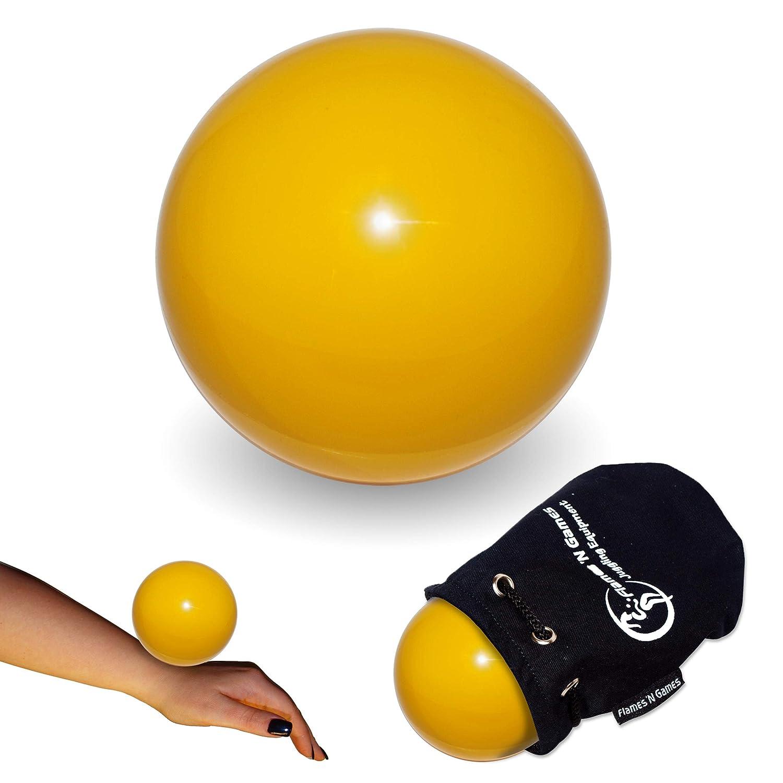 Práctica pelota para malabares de contacto (amarillo) 80 mm (L) de ...